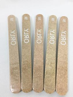 New* Orly Nail File 120 Grit Garnet Board Files Shapes Artif