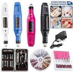 New PROFESSIONAL ELECTRIC NAIL FILE DRILL Manicure Tool Pedi