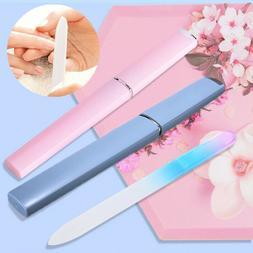 NEW Professional Glass Nail File Salon Polishing Manicure To