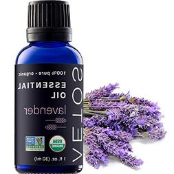 Aetos Organic Lavender Oil, USDA Certified Organic Essential