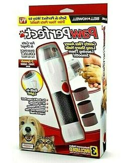 Bell + Howell PAWPERFECT Pet Nail Rotating File with 7000-14