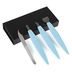BEZOX Pedicure Knife Set - Callus Shavers, Corn and Hard Thi
