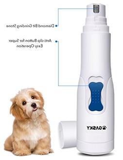 Dog Pet Nail Grinder for Small Medium Dog Cat Cordless Gentl