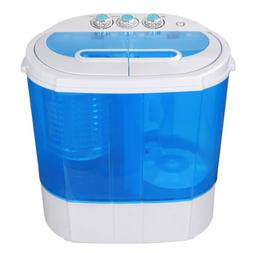 Portable Washing Machine Compact lightweight 10lbs Washer w/
