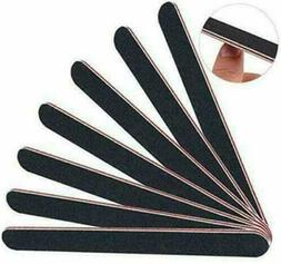 Pro Double Sided Manicure Nail File Emery Boards #100 #180 P
