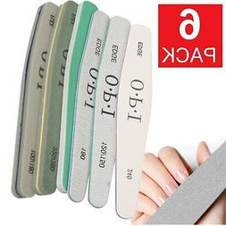 Pro Double Sided Manicure Nail File Emery Boards Buffer Shin