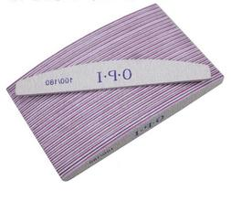 Pro Double Sided Manicure Nail File Emery Boards Grit 100,18