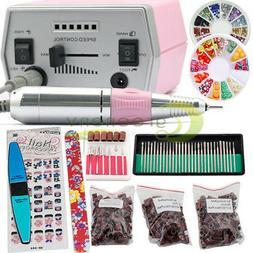 Pro Electric Nail File Drill Manicure Machine Art Acrylic Pe