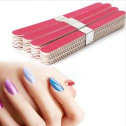 Pro Nail Art Sanding Files UV Gel Polish Acrylic Block Buffe
