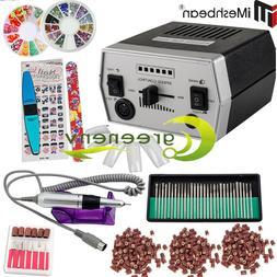 Pro 30000RPM Electric Nail Drill File Machine Acrylic Manicu