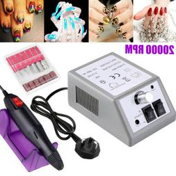 PROFESSIONAL ELECTRIC NAIL FILE DRILL Manicure Tool Pedicure