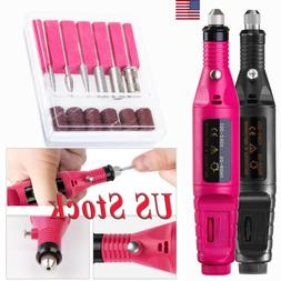 Professional Electronic Nail File Drill Manicure Tool Pedicu