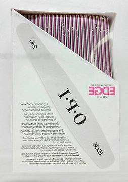 Professional opi Files - EDGE White 240 Cushioned Board 48 c