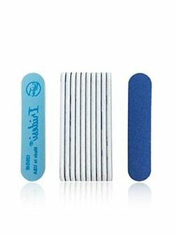 Iridesi Professional Mini Blue Finger Nail Files 120/240 Was