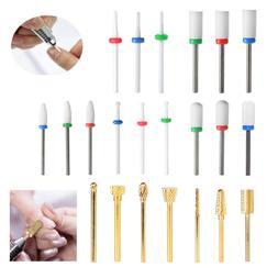 Professional Nail Drill Bits For Acrylic Nail 3/32 Cuticle C