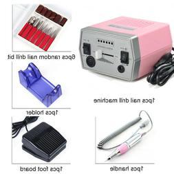 Professional Nail File Drill Electric Manicure Pedicure Acry
