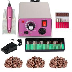 Professional Nail File Machine Acrylic Gel Manicure Electric