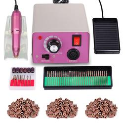professional nail file machine acrylic gel manicure