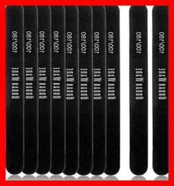 Professional Nail Files 10 Pack Double Sided 100/180 Grit Wa