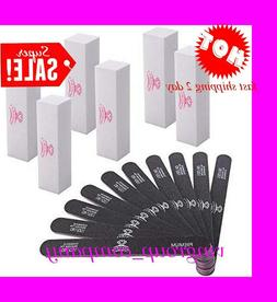 Makartt Professional Nail Files 10pcs 100 180 Grit and Nail