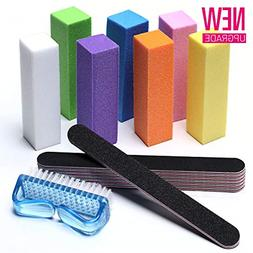Professional Nail Files and Buffer Shiner Polisher Manicure