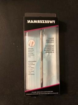 Tweezerman Pushy Cuticle Pusher and Nail Cleaner - NEW in BO