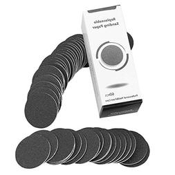 TOOGOO 60 pcs Replacement Sandpaper Discs Pads For Electric