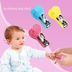Baby Kids Safety Nail Cutters Clippers Scissors File for Chi