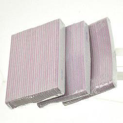 Sanding File Buffer Nail Art Tips For Salon Manicure UV Gel