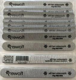silver cushion core nail file 100 180