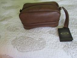 T. Harris Toiletry,shaving,grooming kit,NWT,Bottom zip tray