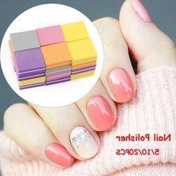 Trimming Kit Beauty Polishing block Sanding Files Nail Polis