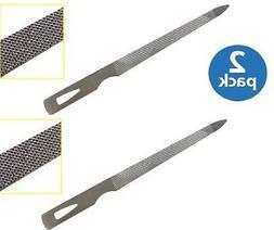 Triple Cut Stainless Steel Finger Toe Fingernail Nail File