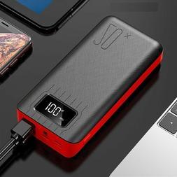 USB Powerbank 20000mAh LED Display Portable Mi9 iPhone Samsu