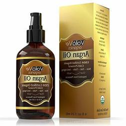 VoilaVe Virgin USDA & ECOCERT Certified Organic Moroccan Arg