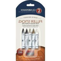 Guardsman Wood Repair Filler Sticks - 5 Colors Plus Sharpene