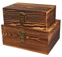 Wooden Keepsake Boxes Wood Box for Jewelry Trinkets Hobby Ca