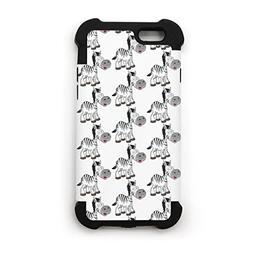 SJSNBZ Zebra Iphone 6 Iphone 6s Cool Funny TPU Rubber Matte